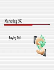 Buying 101 BLANKS MKT 360 11-14.ppt