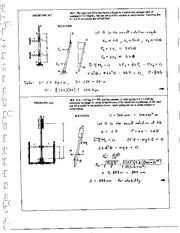 1204_Mechanics Homework Mechanics of Materials Solution