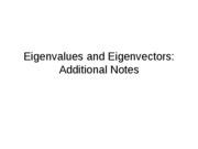 Eigenvalues and Eigenvectors Note2.0