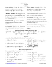 Calculus_Cheat_Sheet_Limits