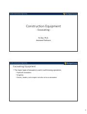 7-Construction Equipment (Excavating) - (Students).pdf