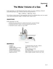 Experiment #4 - Molar Volume of a Gas.pdf