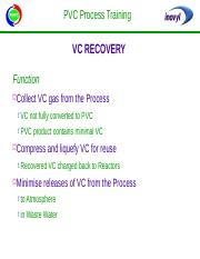 VC Recovery