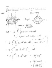 Exam 2 Solution Spring 2008 on Calculus and Analytic Geometry IV