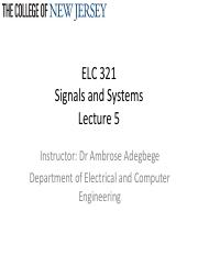Lecture 5_Signals and Signal ProcessingContinuousTimeSystems