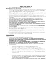 Review Sheet 2 PHIL 230 SP 11