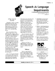 H24 - Speech and Language Impairments
