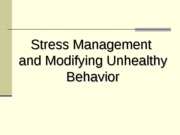 Module 14 (Lec 1) - Stress Management