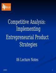 06 Competitive Analysis  Lecture Notes.pptx