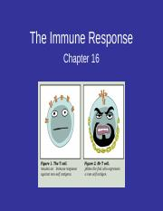 BIOL201 Chapter 16 Specific Defense The Immune Response.ppt