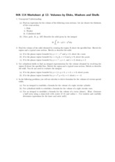 volume of revolution worksheet ap calculus ab volume of revolution. Black Bedroom Furniture Sets. Home Design Ideas