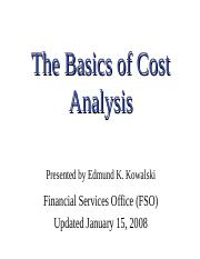 Basics_Cost_Analysis.ppt