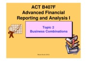B407 Topic 2 Business combination 2012