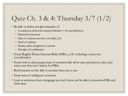 Chapter 4 Slides - 461 Summer 2014