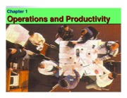 Lec1-Operations and Productivity