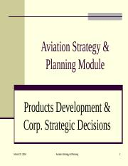 Chap 4-1 Corporate Strategy- Products development and Strategic decisions.ppt