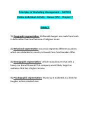 MKT210 Chapter 7 - Bonus Activity 1.docx