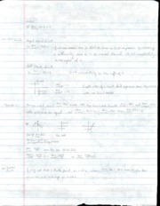 Algebra 2 Lecture 6 Notes