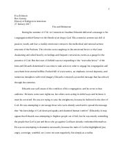 HIST OF RELIGION Paper #2.docx