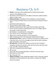 busines review ch 6 - 9.docx