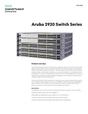 DS Aruba 2920 Switch Series