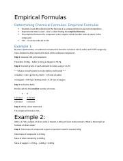 April 19 - Empirical Formulas.docx