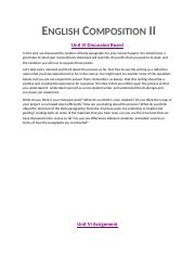 English Composition II Word Document.docx