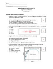 MSE101- QUIZ 1 Solutions