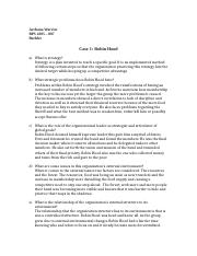 Case study 1 – edward marshall boehm, inc. essay - sample ...