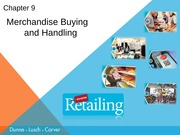 Chapter 9 ppts Retailing Dunne(1)