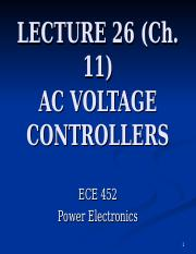 AC VOLTAGE CONTROLLERS.ppt