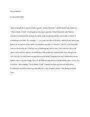Sojourner Truth and Elizabeth Cady Stanton Review.docx