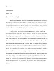eng-My hero paragraph