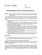 AP-1 Lab Report - Lab 01