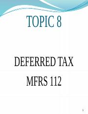 TOPIC 8 DEFERRED TAX.pptx