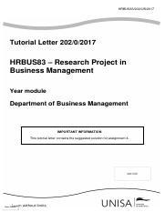 Hrbus83 Tutorial Letter Pdf Hrbus83 Tutorial Letter Hrbus83