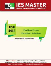 ese-2017-prelims-mechanical-engineering-paper-solution