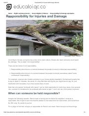 Responsibility_for_Injuries_and_Damage___Educaloi.pdf