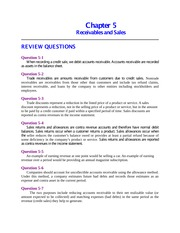Review Question Answers Chapter 5