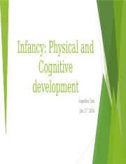 Lecture 03 Infant-physical-and-cognitive-dev-AT Sept 26 Outline