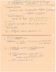 Math 158 Integration by Parts