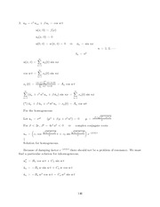 Differential Equations Lecture Work Solutions 146