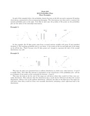 Math 216_Lecture Notes on Probability Plots