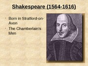 31a Shakespeare
