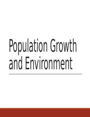 170918 Population Growth and Environment.pptx