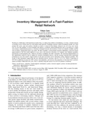 Article 4 - Inventory management of a fast fashion retail network.pdf