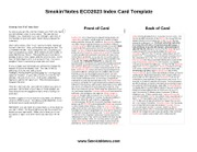 IndexCardTemplate Exam2