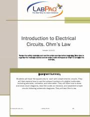 Lab Manual_PK-AR p 29-42 Ohm's Law