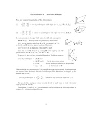 Area and Volume study guide