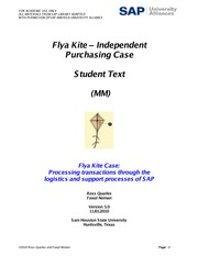 Flya Kite - Independent Purchasing Case - Student Text